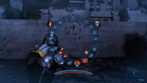 The ME3 HUD on console has few differences from its ME2 counterpart