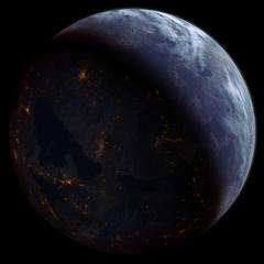 The quarian homeworld in 2186
