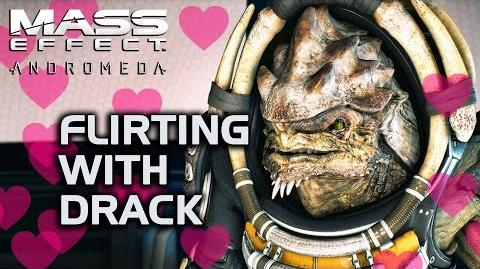 Mass Effect Andromeda - Flirting with Drack. No, really.