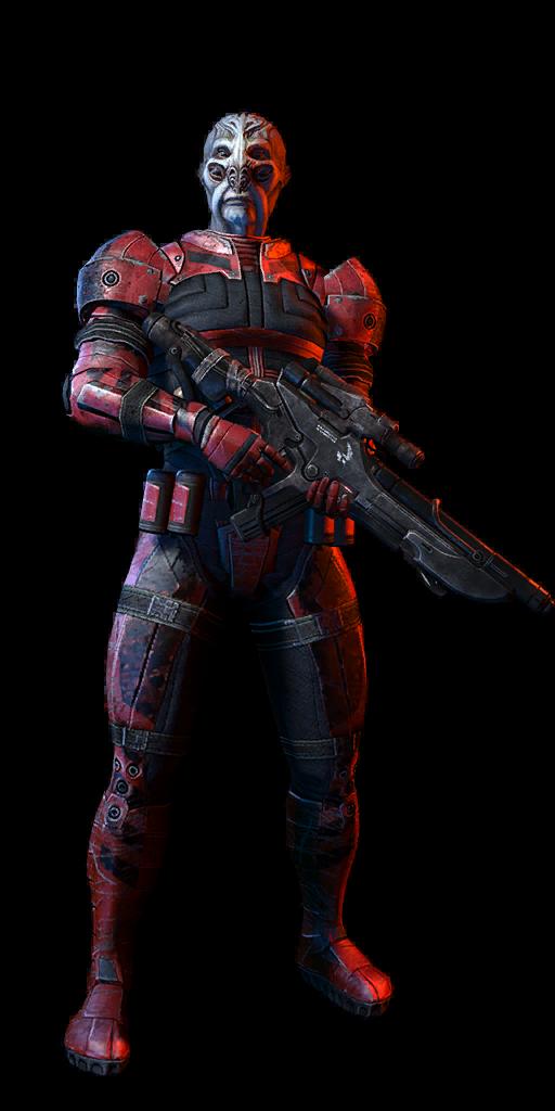 Batarian Enforcer Sentinel