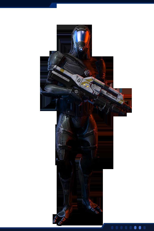 Кварианец-снайпер