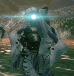 A Geth Shock Trooper