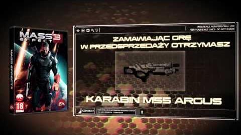 Mass Effect 3 - Karabin M55 Argus