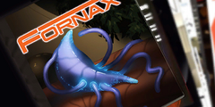 The cover of a Fornax issue as seen in the Codex
