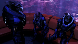 Turian soldiers on shore leave