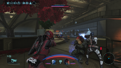 Combat in Mass Effect Legendary Edition