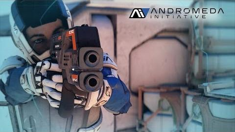 ANDROMEDA INITIATIVE – Weapons Training Briefing