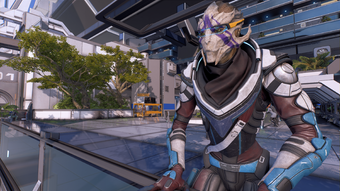 Vetra observing some incompetent mechanics during Nexus visits