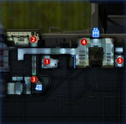 Karte der Citadel-Botschaften