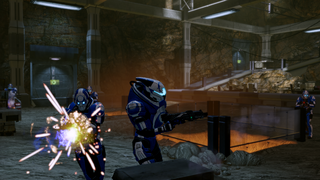 Well-placed biotic strikes can send them off the playing field, but it's faster to just kill them conventionally