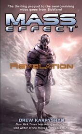 The cover of Mass Effect: Revelation