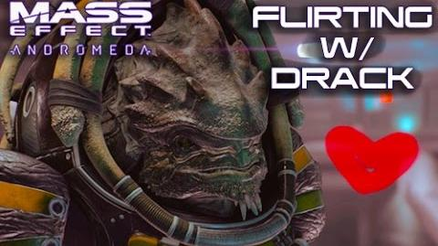 Mass Effect Andromeda - Flirting with Drack