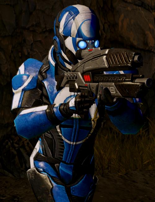 Blue Suns-Schütze