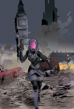 Issue #2 Cover: Hawthorne version