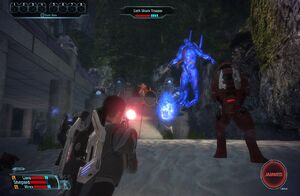 Combat in Mass Effect (PC version)