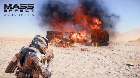 Mass Effect™ Andromeda Walka Bronie & Umiejętności Wideo z rozgrywką - część 1