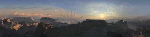 Panoramic view of Bekenstein