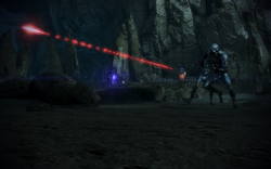 A Ravager covers a Husk charge