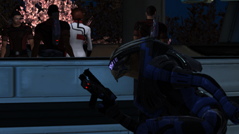 Turian stealth mode doesn't need optic camouflage