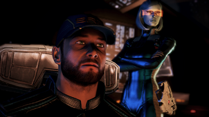 EDI and Joker before the mission