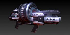 An M-100 Grenade Launcher