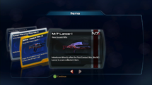 ME3 Lancer M-7 carta de botín