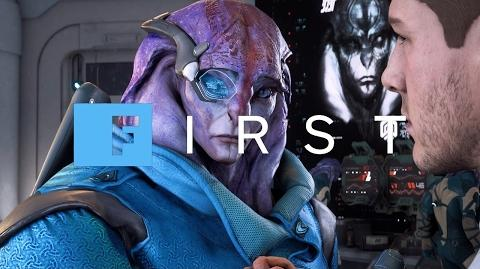 Mass Effect Andromeda - Introducing Jaal Your Angara Teammate (4K) - IGN First