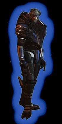 ME2 Garrus Loyal Outfit
