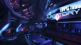 Purgatory VIP lounge