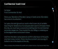 Confidential Voeld Intel