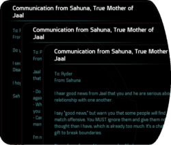 Communication from Sahuna, True Mother of Jaal