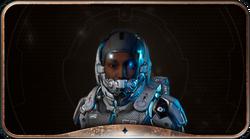 Human Female Vanguard