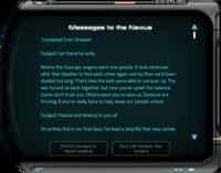 Messages to the Nexus Tavetaan Terminal.png