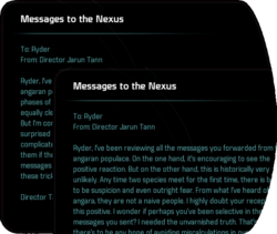 Messages to the Nexus