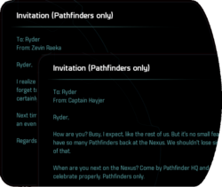 Invitation (Pathfinders only)