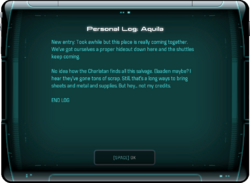 Personal Log: Aquila