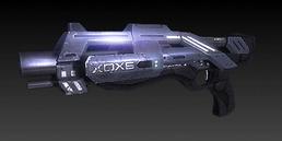 Un fucile a pompa Katana