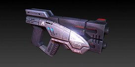 Una pistola pesante Predator