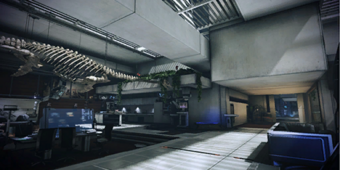 La casa/laboratorio di Bryson