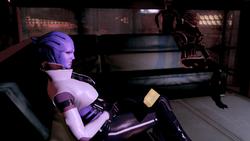 Aria guarda il datapad