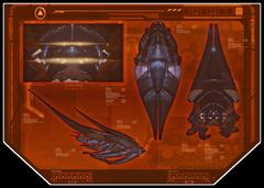 L'immagine di un datapad mostra diverse viste dell'Araldo
