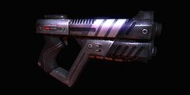Una mitragliatrice Shuriken