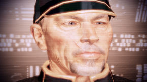 Hackett ragguaglia il Comandante sulla situazione