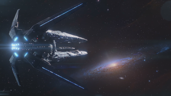 Un Arca in viaggio verso Andromeda