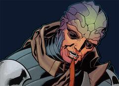 Feron in Mass Effect: Redemption