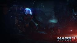 Un screenshot ufficiale di Mass Effect 3: Il Leviatano