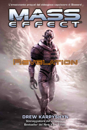 La copertina di Mass Effect: Revelation