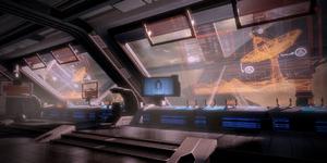 Stanza di controllo della Stazione Hermes