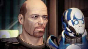 Harkin e un mercenario dei Sole Blu