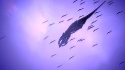 La Sovereign fa sembrare piccola una flotta geth